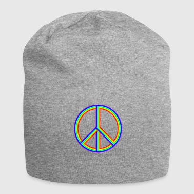 CND- simbolo arcobaleno - Beanie in jersey