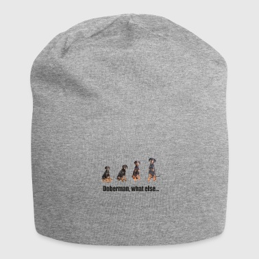 Doberman, what else ... - Jersey Beanie