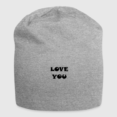 LOVE YOU LOVE YOU RELATIONSHIP - Jersey Beanie