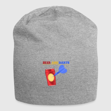 Beer and darts pub Sport Bullseye drink bar - Jersey Beanie
