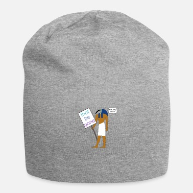 Demo Thoth at a demo - Jersey Beanie