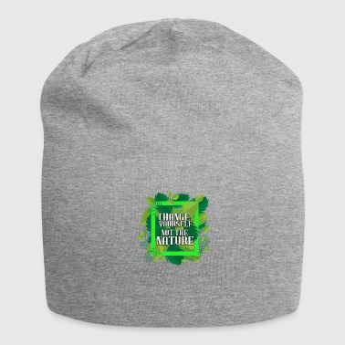 Nature Conservation Nature - Conservation - Environment - Jersey Beanie