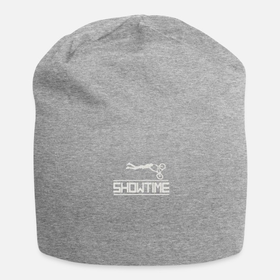 Bike Caps & Hats - Bike - Biker - Showtime - Beanie heather grey