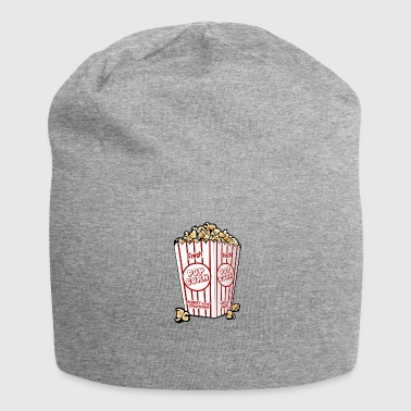 Popcorn Candy Sweet Salty Cinema Nibble Gift - Jersey Beanie