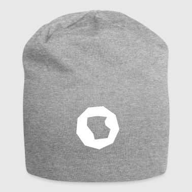 Polygon polygon abstract - Jersey Beanie