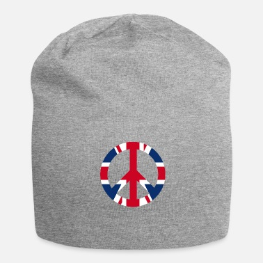 Uk Fredskiltikon UK UK - Jersey-Beanie
