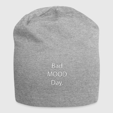 Bad Mood Day with eyebrows - bad mood - Jersey Beanie