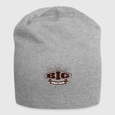 Big Brother Big Sister Big Brother Badge - Jersey Beanie