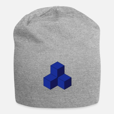 Cubes cubo - Beanie in jersey