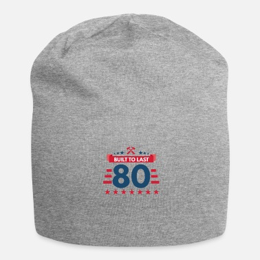 80 ° Compleanno 80 ° compleanno - Beanie in jersey