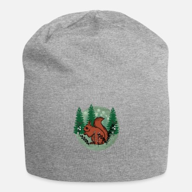 Squirrel in the forest - Jersey Beanie