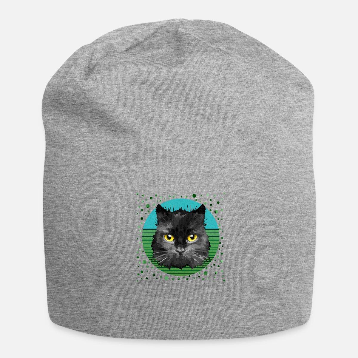 571ba39e3fc Black cat Beanie