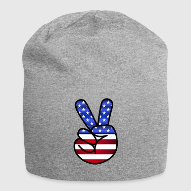 US Pace - Beanie in jersey