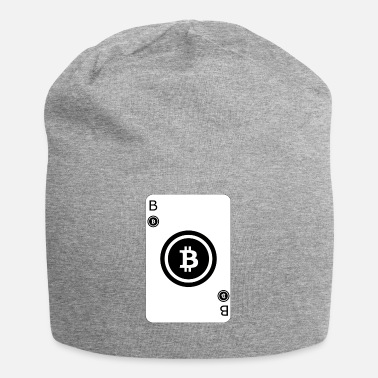 Cards Bitcoin Speel Card Game Card - Jersey-Beanie