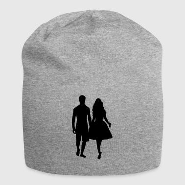 couple - Bonnet en jersey
