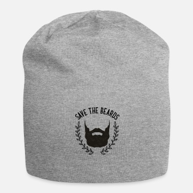 Barbe Cadeau barbe barbe barber barber - Bonnet en jersey