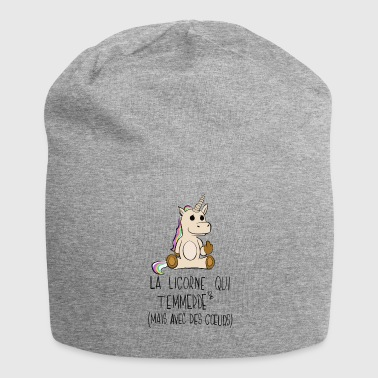 The Unicorn who's fucking you - Jersey Beanie