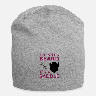 Saddle It is not a beard, but a saddle - Beanie