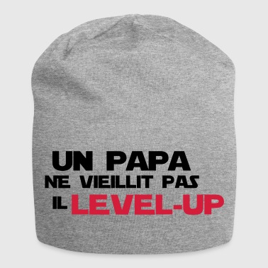 Futur Papa un papa ne vieillit pas,citations,geek,gaming - Bonnet en jersey