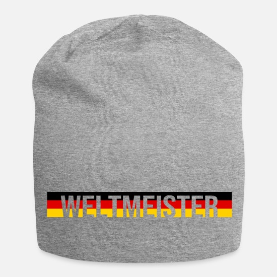 World Caps & Hats - World Champion - Beanie heather grey