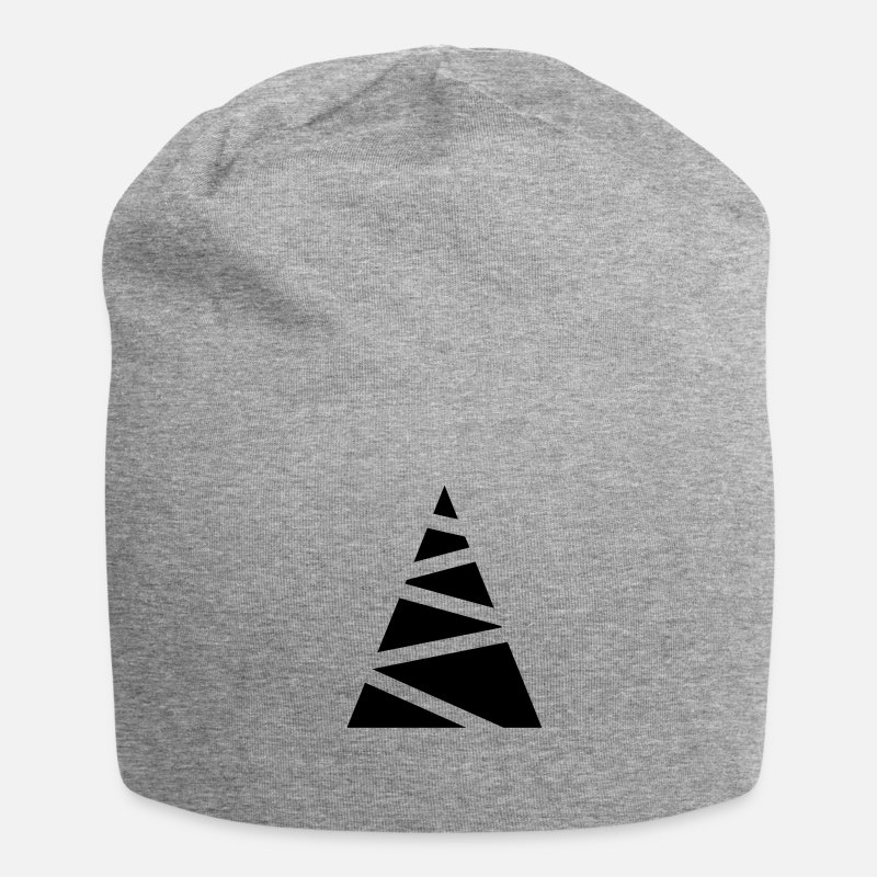 Unisex Caps & Hats - Abstract fir-tree - Beanie heather grey