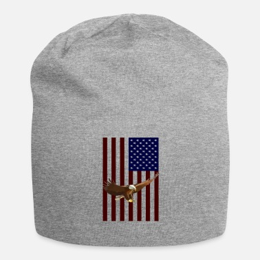 American Eagle American Flag with American Eagle - Beanie