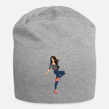 Pinup pinup Girl - Jersey-Beanie