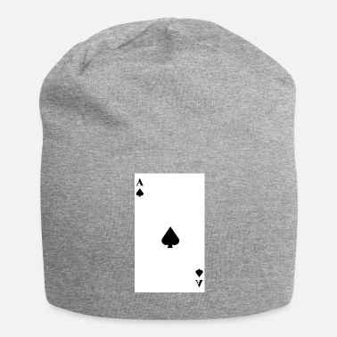 Ace-of-spades Ace of Spades - Jersey Beanie