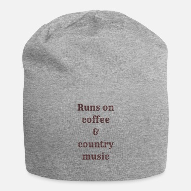 Country Music Coffee & country music - Bonnet en jersey