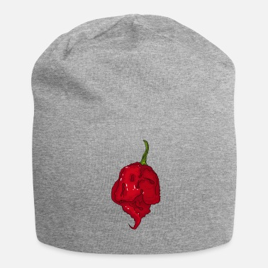 Spaanse Chili Pepper Hot Sauce Carolina Reaper Spicy Food - Jersey-Beanie