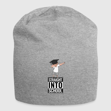 Dab Back to school Straight Into School DAB Dabbing Boy - Jersey Beanie