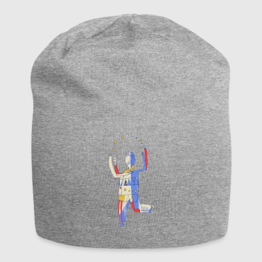 Colorful balls juggler - Jersey Beanie