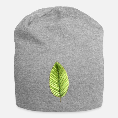 Cherry Leaf of a cherry tree - Jersey Beanie