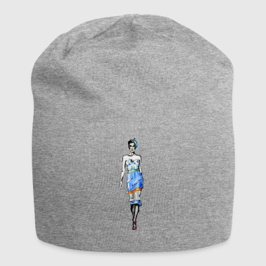 Mode Illustration - Jersey-Beanie