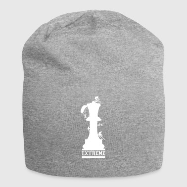 Chess is sport - extreme sport for the brain - Jersey Beanie