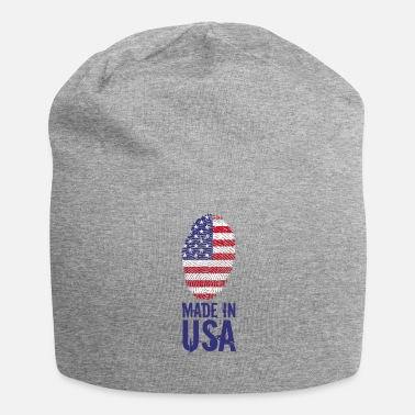Usa Made in USA / Made in USA Amerika - Jersey-Beanie