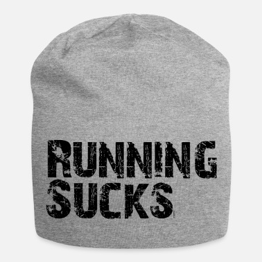 Run Courir suce slogan Run Run Fitness - Bonnet en jersey