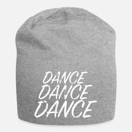 Dance Caps & Hats - DANCE DANCE DANCE - Beanie heather grey