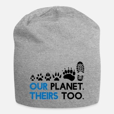 Support Animal Rights - Our Planet, theirs too - Beanie