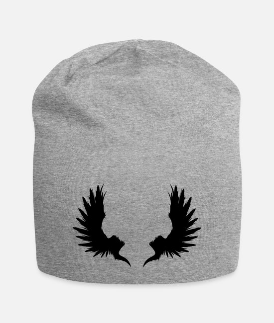 Garden Caps & Hats - Back Wings - Beanie heather grey