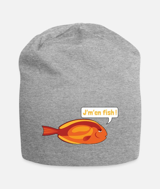 Naughty Caps & Hats - JM IN FISH 2 - Beanie heather grey