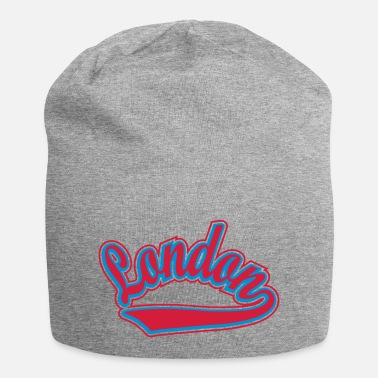 Personalised London - T-shirt Personalised with your name - Beanie