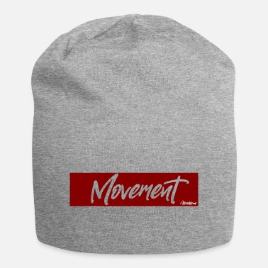 Movement Movement - Tandeloze Rood [Afroflows] - Beanie