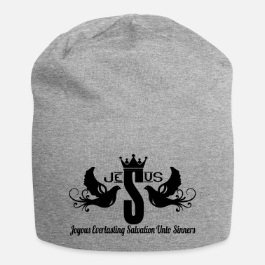 JESUS Clothing King Black - Beanie