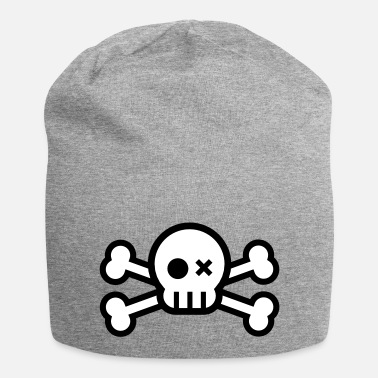 Skull skull and crossbones - Beanie