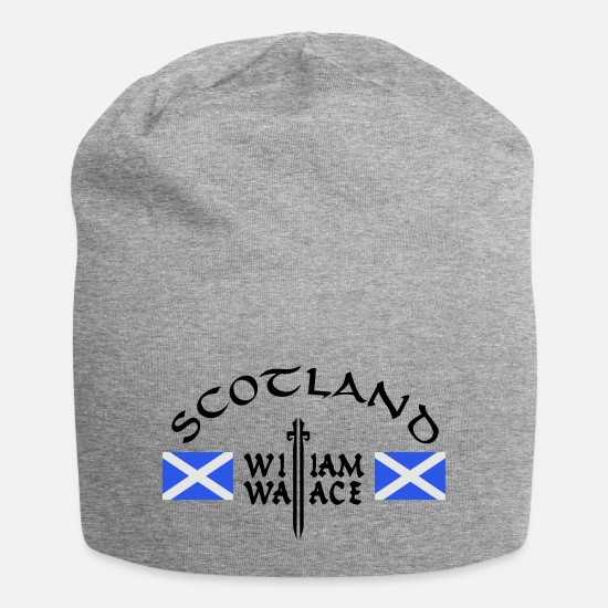 Wallace Caps & Hats - Scotland William Wallace - Beanie heather grey
