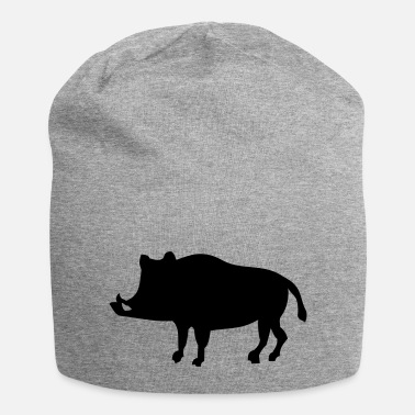 Hog Shadow boar - 1 color vector - Beanie