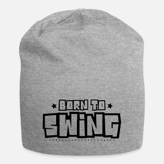 Swing Caps & Hats - Born to swing 2018 - Beanie heather grey