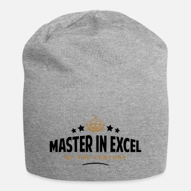 Master master in excel of the century funny - Beanie