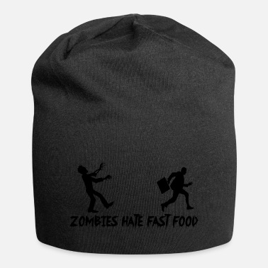 Apocalypse Zombies hate fast food - Beanie